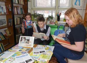 Детская библиотека «Читай-город»