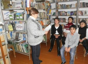 Охотская библиотека-филиал №15