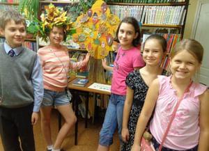 Детская библиотека № 15 города Тольятти