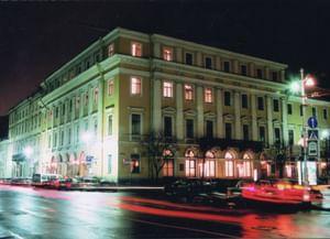 Большой зал Санкт-Петербургской академической филармонии имени Д.Д. Шостаковича
