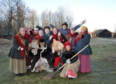 Праздник «Сказочное новогодье в «Витославлицах»
