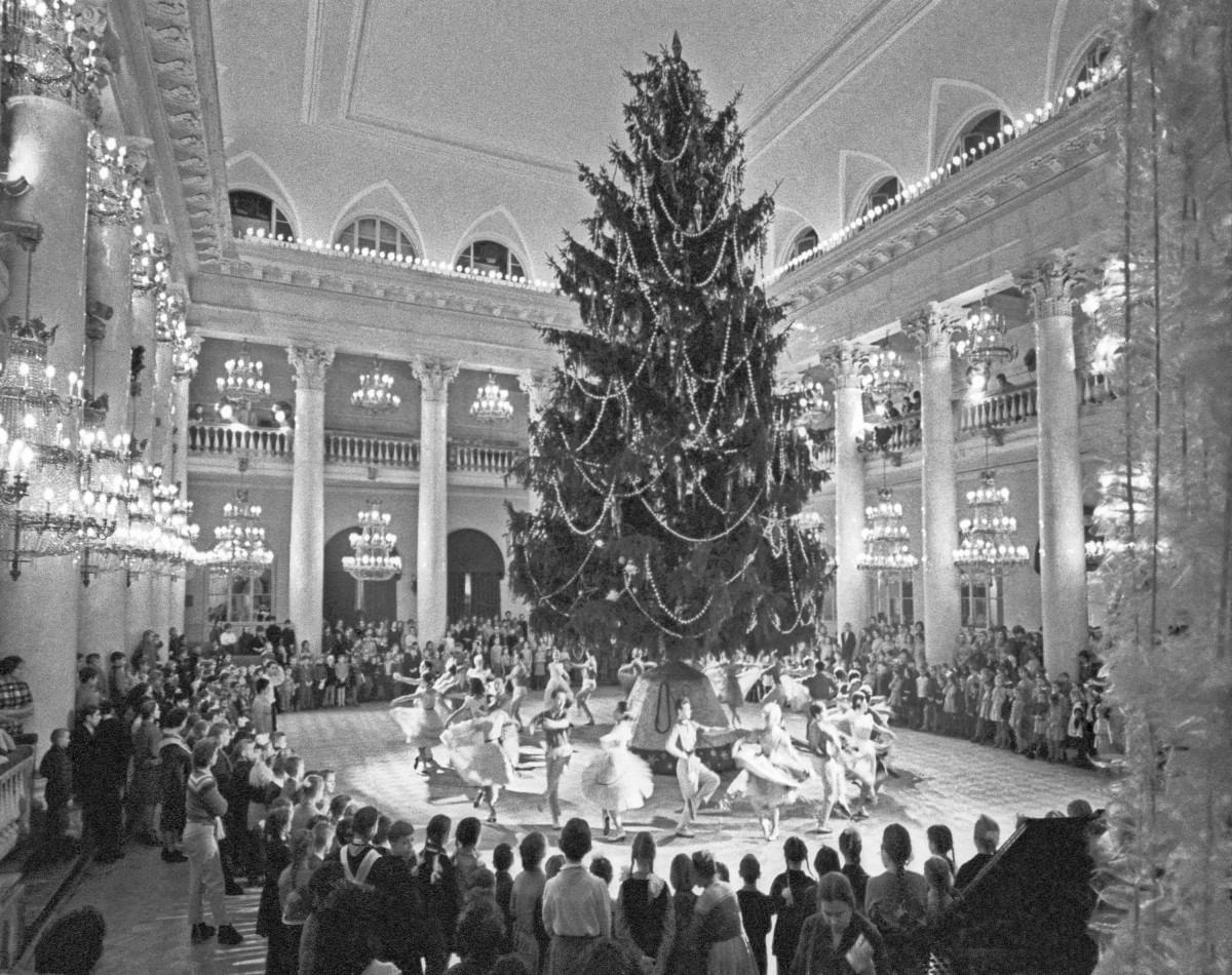 Новогодняя елка. История традиции