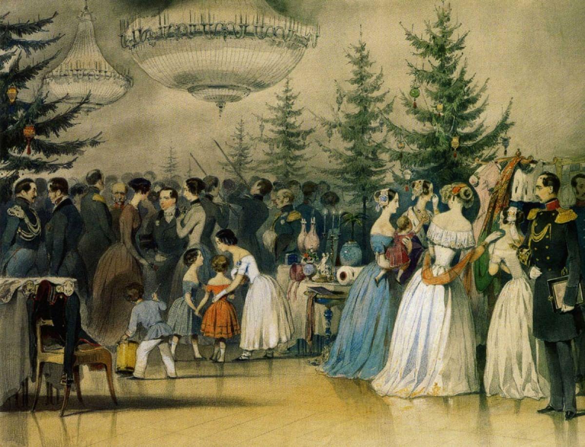 Новогодняя елка. История традиции_1