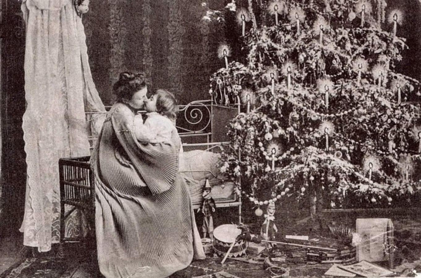 Новогодняя елка. История традиции_2