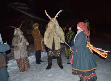 Этнографическая программа «Васильев вечер в «Витославлицах»