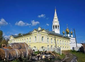Храм Николая Чудотворца в Приволжске Ивановской области (Николая Мирликийского храм)