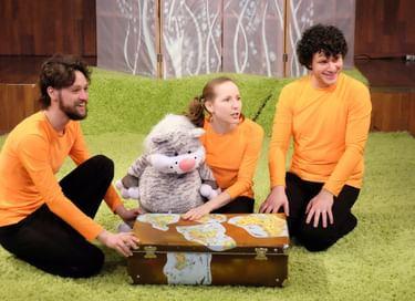 Спектакль «Сказки кота Мурлыки. Как Кот зверей напугал»