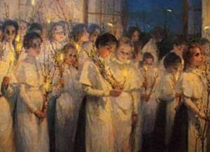 Как праздновали Новый год в институтах благородных девиц
