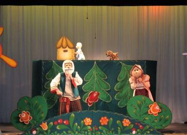 Спектакль «Девочка-Снегурочка»