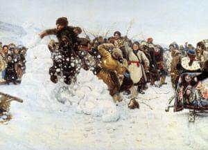 Зимние виды спорта на Руси