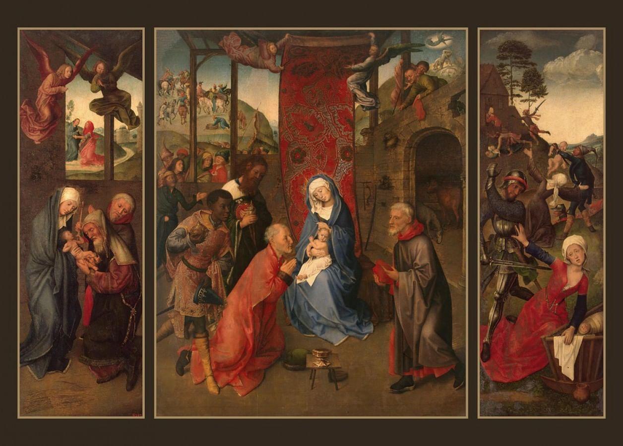 10 европейских картин о Рождестве в музеях России