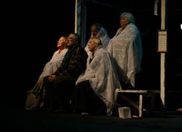 Спектакль «Выходили бабки замуж»