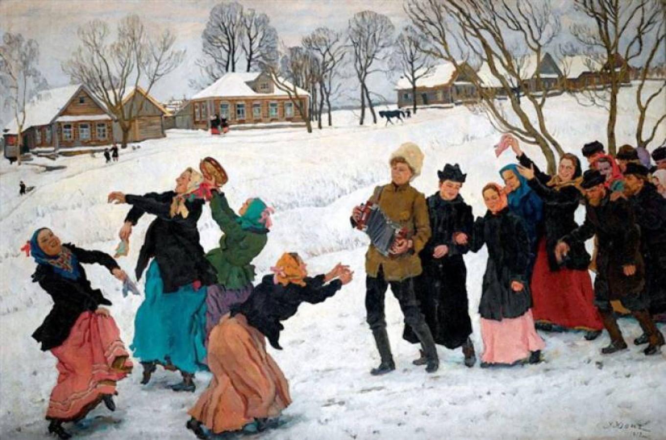 Старый Новый год или Васильев вечер