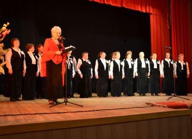 Концерт хора «Ветеран»