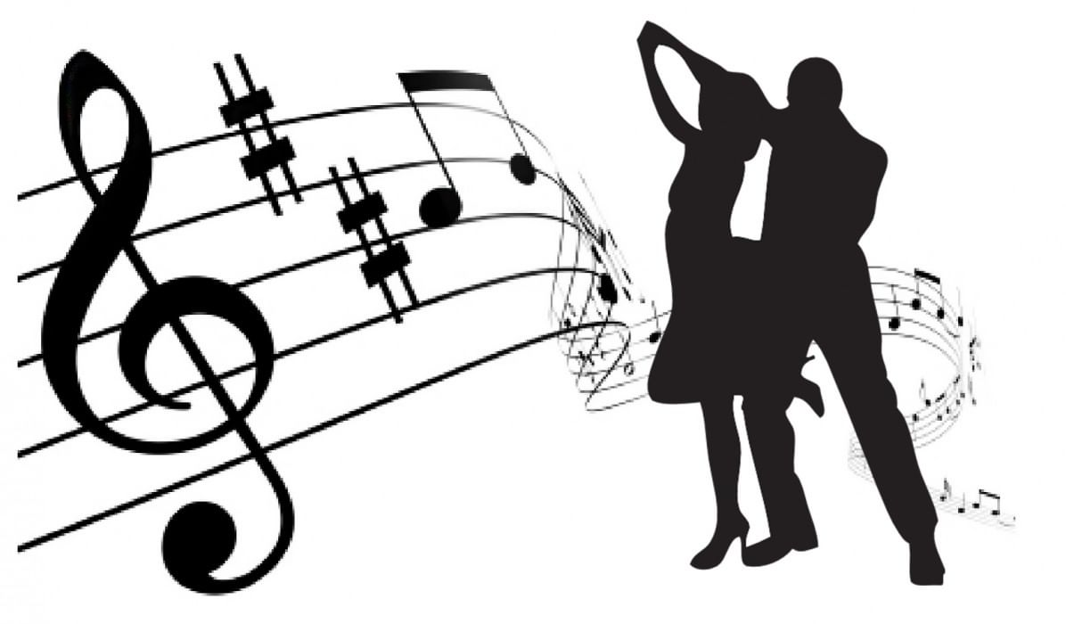 Танцующие нотки картинки