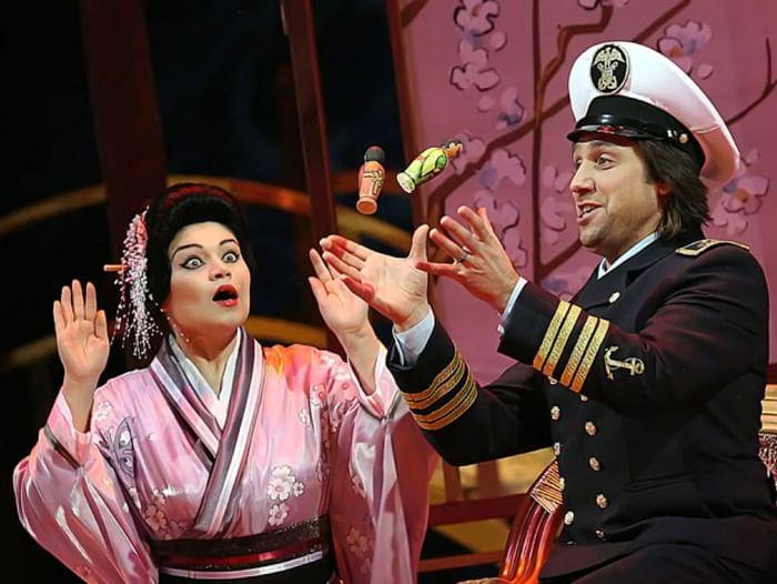 Опера «Мадам Баттерфлай»