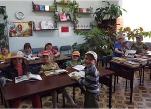 Омгинская сельская библиотека-филиал
