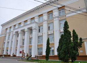 Воронежская областная универсальная научная библиотека им. И. С. Никитина на площади Ленина