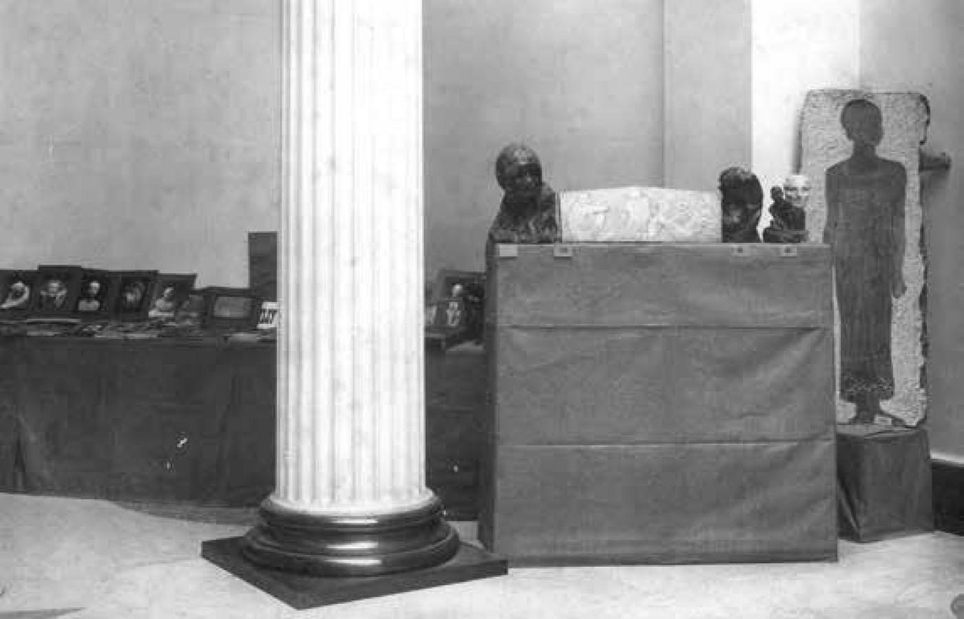 Персональная выставка в Москве. 1914 год