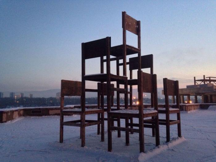 Паблик-арт объекты Музейного центра «Площадь Мира»