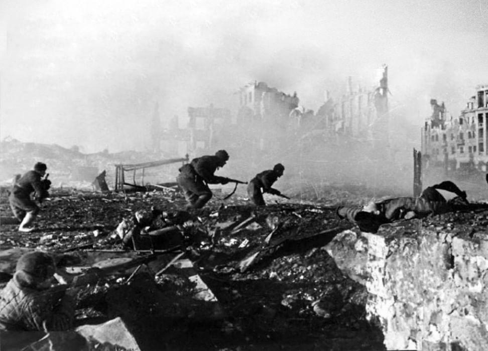 Фото сталинградской битвы