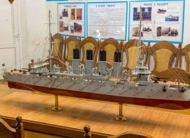 Интерактивная экскурсия «Путешествие на крейсере «Варяг»