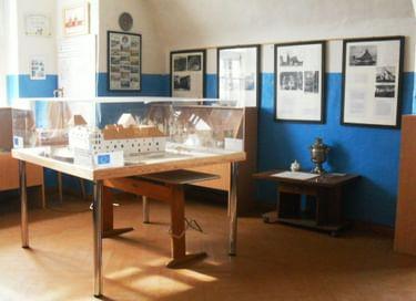 Экспозиция Музея истории города Полесска (замок «Лабиау»)