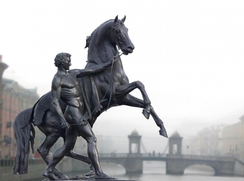 Скульптуры Петра Клодта