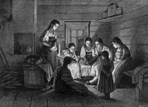 Святочные гадания на северо-западе Смоленщины