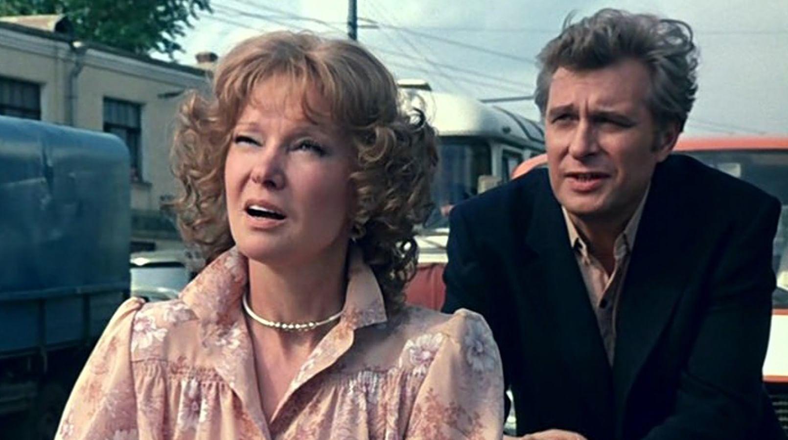 Кадр из фильма «Вокзал для двоих»