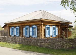 Дом, в котором провел детские годы В.М. Шукшин