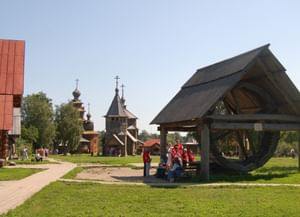 Музей деревянного зодчества г. Суздаль