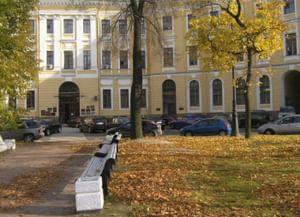 Выставочный зал Музейного агентства Ленинградской области