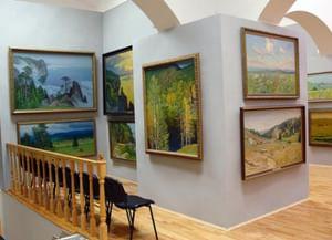 Картинная галерея пейзажей художника Павла Моисеевича Гречишкина
