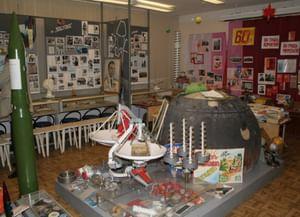 Музей космической славы школы N55 г. Омска