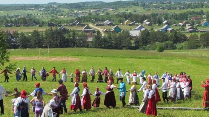 Песенно-хореографическая традиция Верховажского района Вологодской области