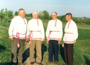 Традиция мужского пения села Большебыково Красногвардейского района Белгородской области