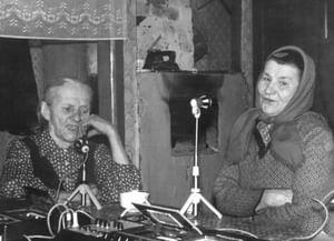 Творческое наследие певицы Ивенской Александры Фёдоровны из деревни Борок Островского района Костромской области