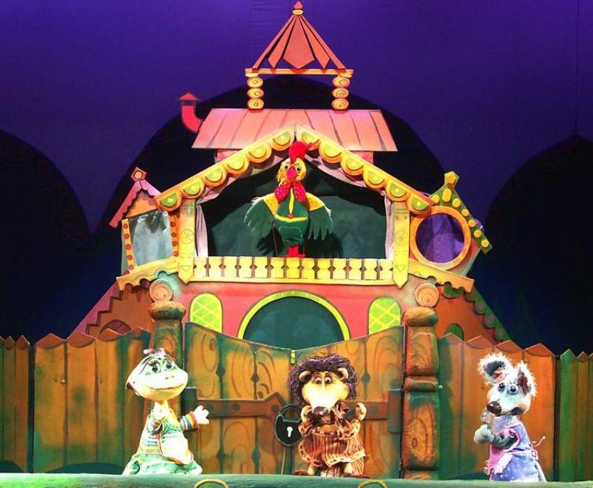 картинки кукольного театра теремок