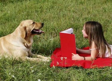 Встреча с собакой-терапевтом «Читаем вместе»