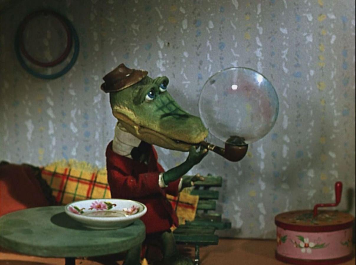 Кадр из мультфильма «Крокодил Гена»