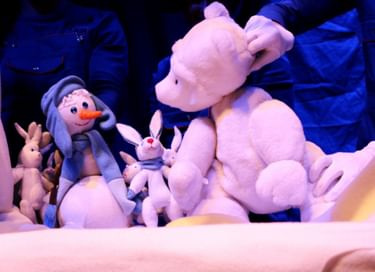 Спектакль «Медвежонок и Снеговик»