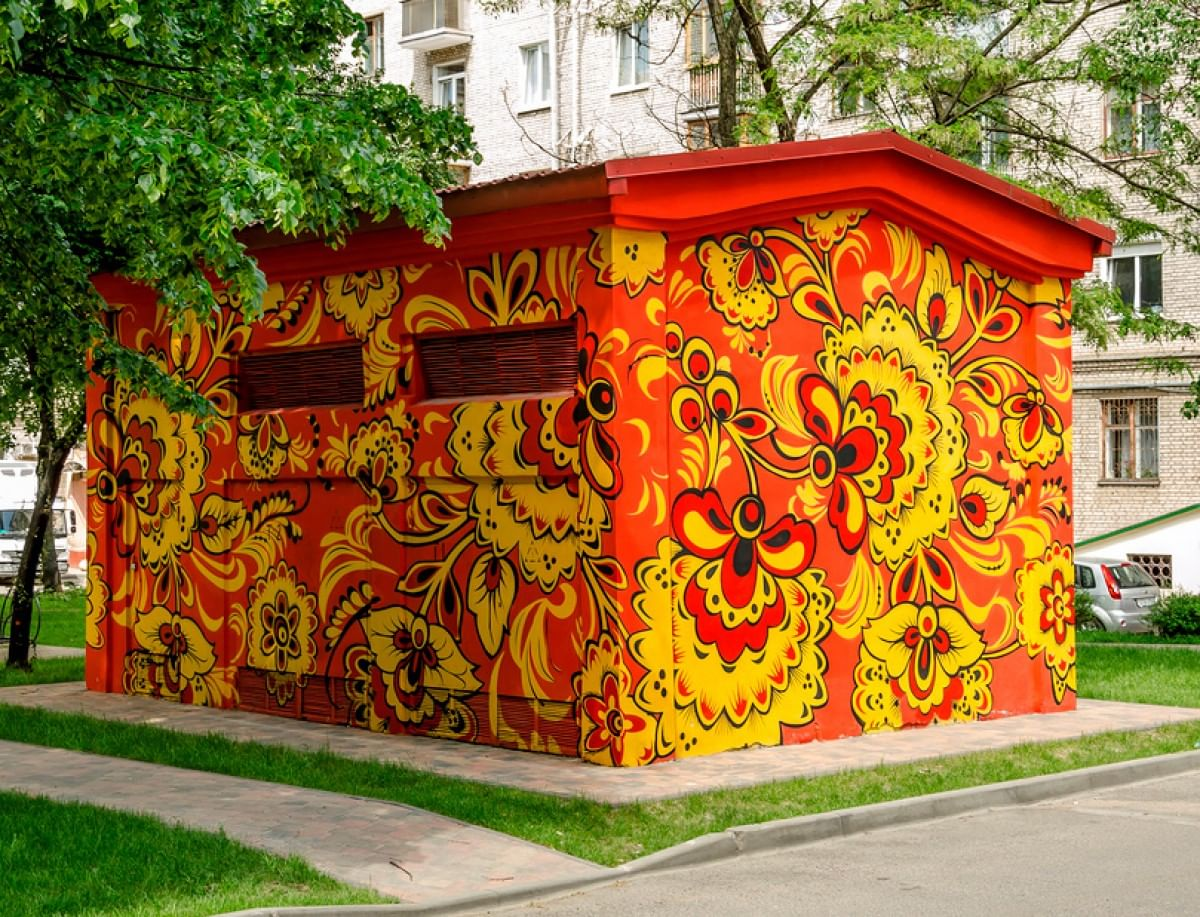 Хохломская роспись2