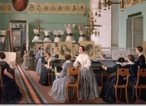 Предтечи знаменитых: русские художницы XIX века
