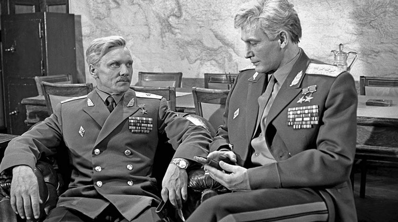 Кадр из фильма «Офицеры»
