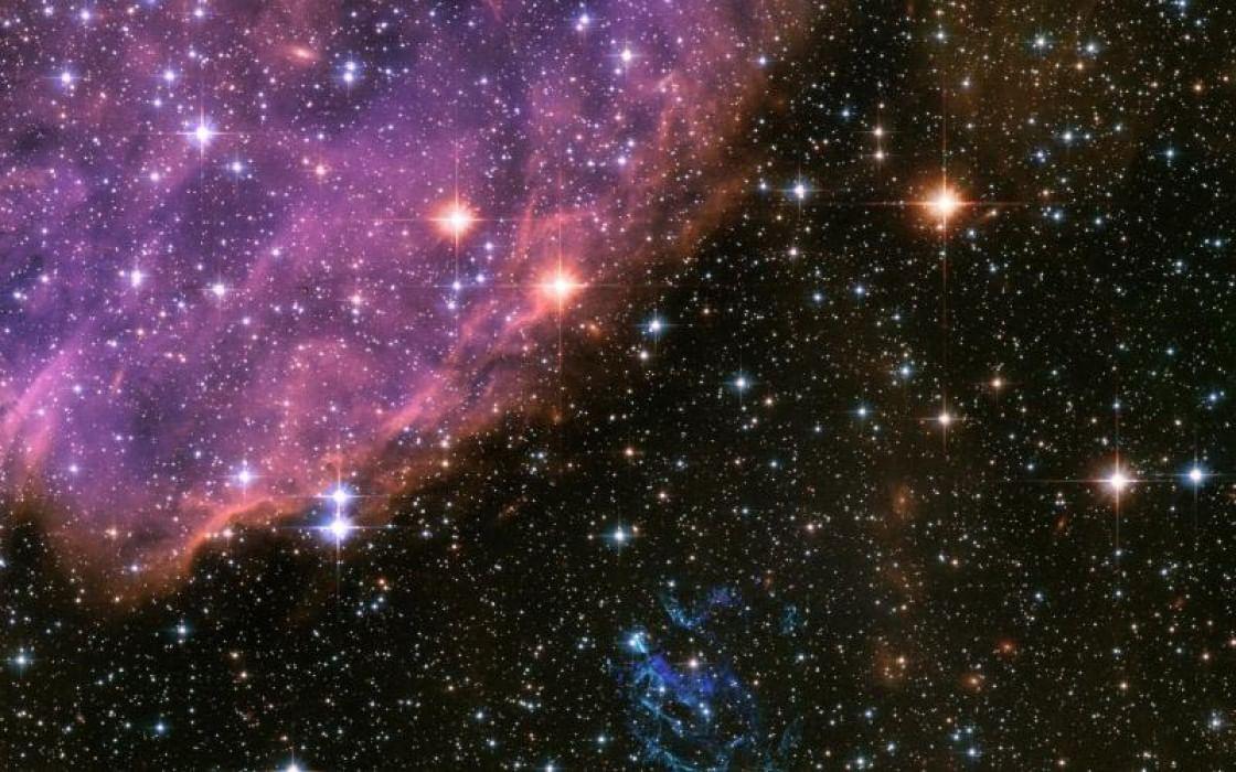 эффект космического неба на фото инете много