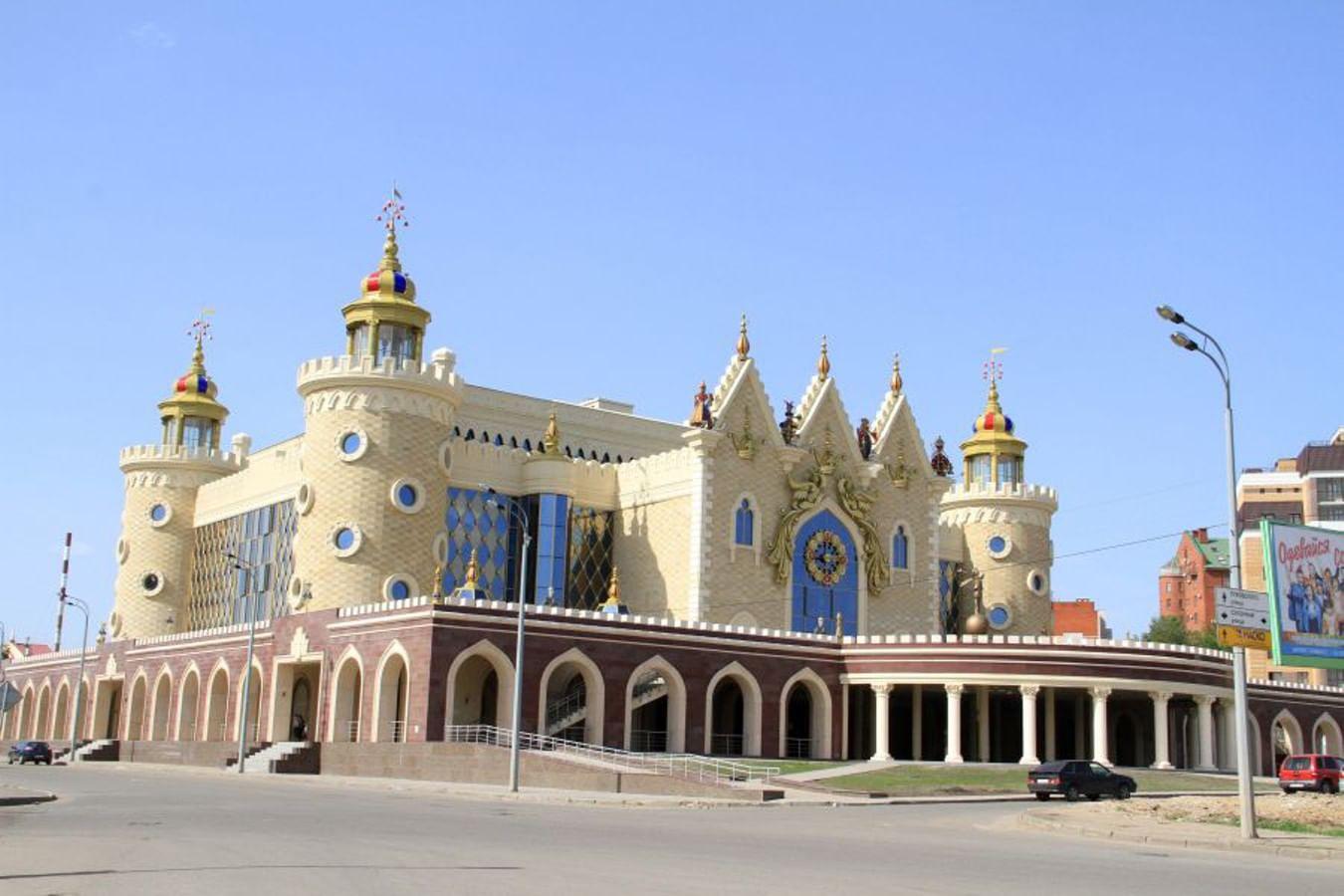 Татарский государственный театр кукол «Экият»
