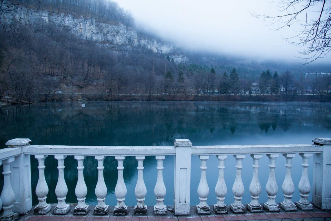 Голубые озера в Кабардино-Балкарии