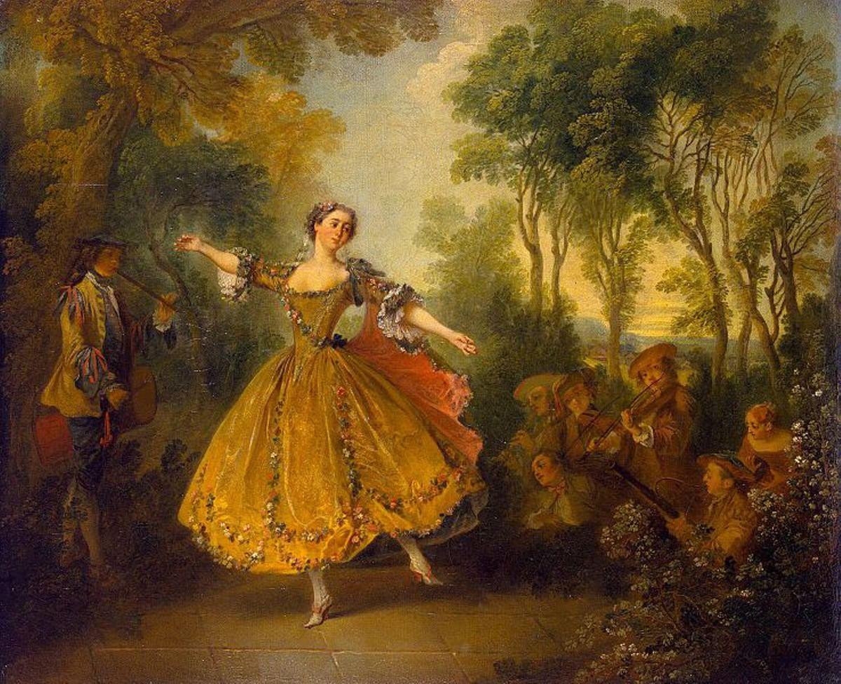 Картины эпохи рококо и романтизма