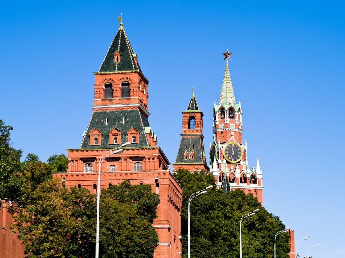 Московский Кремль и Красная площадь.